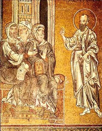 San Paolo predica agli Ebrei